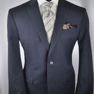 Recent John Varvatos Navy Modern 2Btn Suit